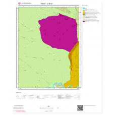 G36b2 Paftası 1/25.000 Ölçekli Vektör Jeoloji Haritası