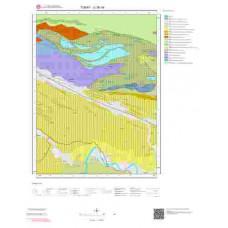 G36b4 Paftası 1/25.000 Ölçekli Vektör Jeoloji Haritası