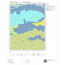 G36d1 Paftası 1/25.000 Ölçekli Vektör Jeoloji Haritası