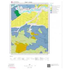 G36d2 Paftası 1/25.000 Ölçekli Vektör Jeoloji Haritası