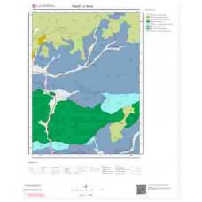 G36d3 Paftası 1/25.000 Ölçekli Vektör Jeoloji Haritası