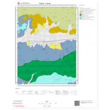 G36d4 Paftası 1/25.000 Ölçekli Vektör Jeoloji Haritası