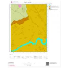G 37-a1 Paftası 1/25.000 ölçekli Jeoloji Haritası