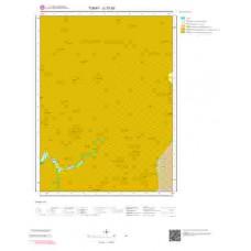 G 37-b3 Paftası 1/25.000 ölçekli Jeoloji Haritası