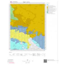 G 37-c1 Paftası 1/25.000 ölçekli Jeoloji Haritası