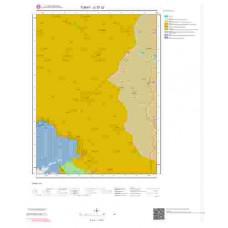 G 37-c2 Paftası 1/25.000 ölçekli Jeoloji Haritası