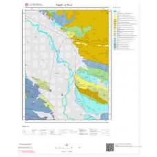 G37c3 Paftası 1/25.000 Ölçekli Vektör Jeoloji Haritası