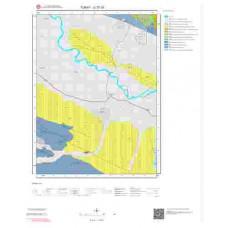 G37d1 Paftası 1/25.000 Ölçekli Vektör Jeoloji Haritası