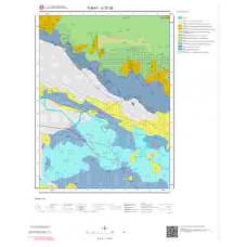 G37d2 Paftası 1/25.000 Ölçekli Vektör Jeoloji Haritası