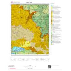 G 38 Paftası 1/100.000 ölçekli Jeoloji Haritası
