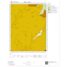 G38a1 Paftası 1/25.000 Ölçekli Vektör Jeoloji Haritası