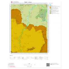 G38a2 Paftası 1/25.000 Ölçekli Vektör Jeoloji Haritası