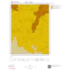 G38a3 Paftası 1/25.000 Ölçekli Vektör Jeoloji Haritası