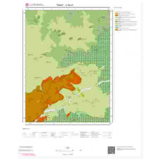 G38b1 Paftası 1/25.000 Ölçekli Vektör Jeoloji Haritası