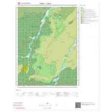 G38b2 Paftası 1/25.000 Ölçekli Vektör Jeoloji Haritası