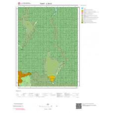 G38b3 Paftası 1/25.000 Ölçekli Vektör Jeoloji Haritası