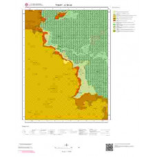 G38b4 Paftası 1/25.000 Ölçekli Vektör Jeoloji Haritası