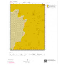 G38c1 Paftası 1/25.000 Ölçekli Vektör Jeoloji Haritası