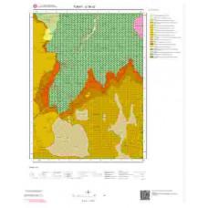 G38c2 Paftası 1/25.000 Ölçekli Vektör Jeoloji Haritası