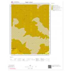 G38c3 Paftası 1/25.000 Ölçekli Vektör Jeoloji Haritası