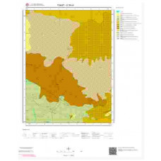 G38c4 Paftası 1/25.000 Ölçekli Vektör Jeoloji Haritası