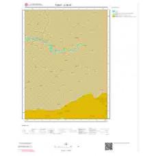 G38d1 Paftası 1/25.000 Ölçekli Vektör Jeoloji Haritası