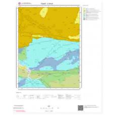 G38d4 Paftası 1/25.000 Ölçekli Vektör Jeoloji Haritası