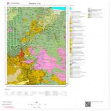 G 39 Paftası 1/100.000 ölçekli Jeoloji Haritası