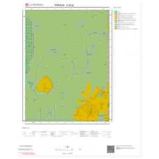 G39a2 Paftası 1/25.000 Ölçekli Vektör Jeoloji Haritası