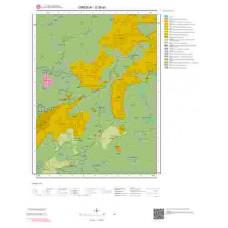 G39a3 Paftası 1/25.000 Ölçekli Vektör Jeoloji Haritası
