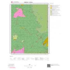 G 39-a4 Paftası 1/25.000 ölçekli Jeoloji Haritası