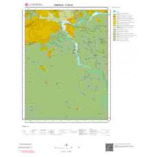 G39b4 Paftası 1/25.000 Ölçekli Vektör Jeoloji Haritası