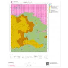 G39c4 Paftası 1/25.000 Ölçekli Vektör Jeoloji Haritası