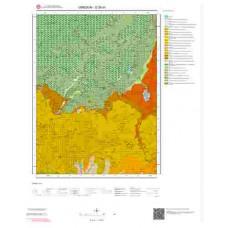 G39d1 Paftası 1/25.000 Ölçekli Vektör Jeoloji Haritası