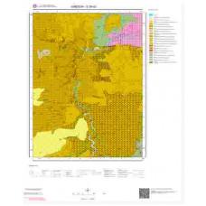 G39d3 Paftası 1/25.000 Ölçekli Vektör Jeoloji Haritası