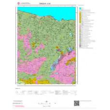 G40 Paftası 1/100.000 Ölçekli Vektör Jeoloji Haritası