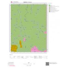G40a3 Paftası 1/25.000 Ölçekli Vektör Jeoloji Haritası