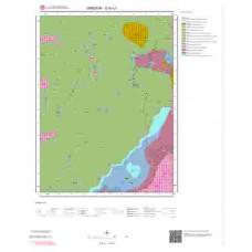 G40c1 Paftası 1/25.000 Ölçekli Vektör Jeoloji Haritası