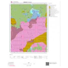 G40c2 Paftası 1/25.000 Ölçekli Vektör Jeoloji Haritası