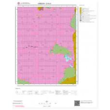G40c3 Paftası 1/25.000 Ölçekli Vektör Jeoloji Haritası