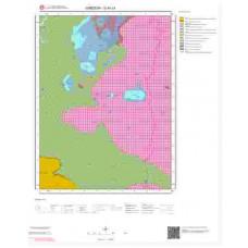 G40c4 Paftası 1/25.000 Ölçekli Vektör Jeoloji Haritası