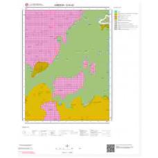 G 40-d3 Paftası 1/25.000 ölçekli Jeoloji Haritası