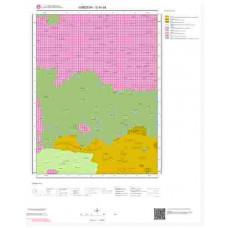 G 40-d4 Paftası 1/25.000 ölçekli Jeoloji Haritası