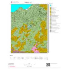 G41 Paftası 1/100.000 Ölçekli Vektör Jeoloji Haritası