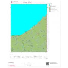 G41a1 Paftası 1/25.000 Ölçekli Vektör Jeoloji Haritası