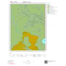 G41a3 Paftası 1/25.000 Ölçekli Vektör Jeoloji Haritası