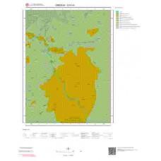G41b3 Paftası 1/25.000 Ölçekli Vektör Jeoloji Haritası