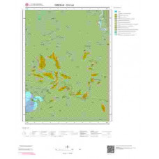 G41b4 Paftası 1/25.000 Ölçekli Vektör Jeoloji Haritası