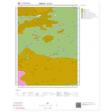 G41c3 Paftası 1/25.000 Ölçekli Vektör Jeoloji Haritası