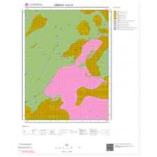 G41c4 Paftası 1/25.000 Ölçekli Vektör Jeoloji Haritası